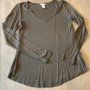 H&M Olive Green Tee